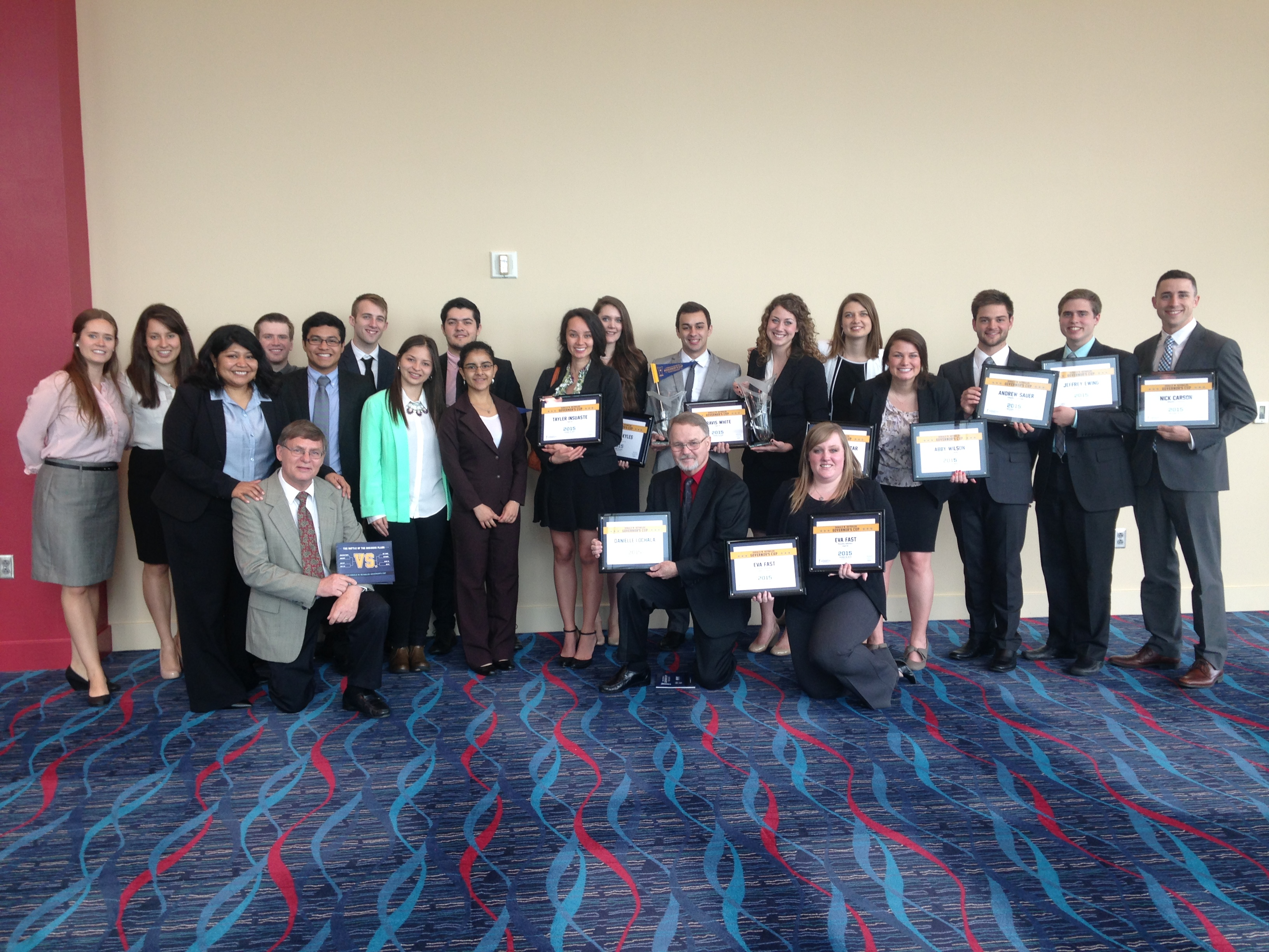 JBU Business Team Advances to Tri-State Business Competition
