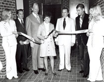 Mabee Student Center dedication
