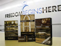 """Freedom Begins Here"" (FBH), a DVD and devotional book"