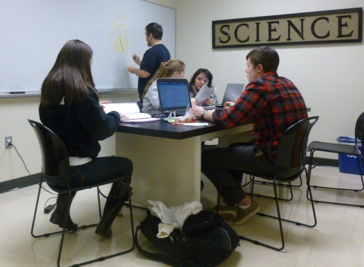 Student Study Area - Bell Science Hall